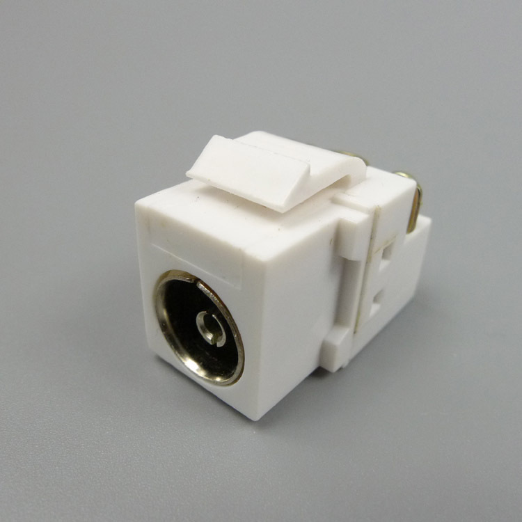 TV connector Keystone Jack